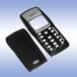 Корпус для Nokia 1100 (копия оригинала, со сред частью, ЧЁРНЫЙ)