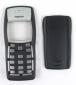 Корпус для Nokia 1100 (копия оригинала, панели, ЧЁРНЫЙ)
